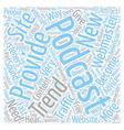 Popular Pet Tents text background wordcloud vector image vector image