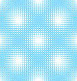 seamless pattern with square halftone vector image vector image