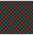 Textured tartan plaid vector image vector image