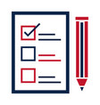 united states elections list candidates vector image vector image