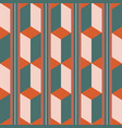 unusual 3d effect rectangle block and stripe