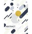 Simple universal geometric design vector image