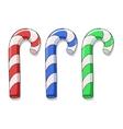 Color candies vector image