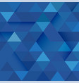 abstract blue tone geometric layout template and vector image vector image