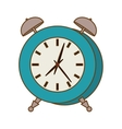 blue alarms clock icon image vector image vector image