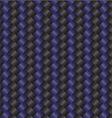 carbon fiber black blue vector image