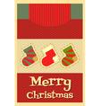 Christmas Card vector image vector image