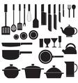 flat kitchen table for cooking in house desi vector image vector image