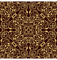 gold seamless wallpaper vector image vector image