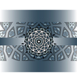 mandala border vector image vector image