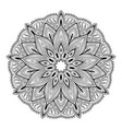 mandala highly detailed inspired vector image vector image