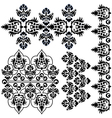ottoman serial patterns eight vector image vector image