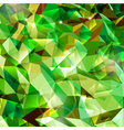 Abstract green background Combination of triangle vector image vector image