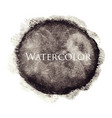 black abstract watercolor hand drawn texture vector image vector image