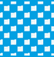 building plan pattern seamless blue vector image vector image