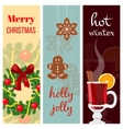 Christmas mood set vector image