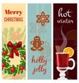 Christmas mood set vector image vector image
