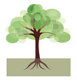 decorative image of tree vector image vector image