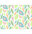 foliage pattern seamless modern background vector image