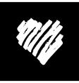 Handdrawn heart vector image vector image