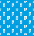 news newspaper pattern seamless blue vector image vector image