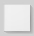 White notebook vector image vector image
