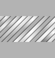 abstract 3d white and gray diagonal stripe layer vector image vector image