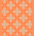abstract circles orange pattern background vector image vector image