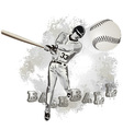 Base ball grunge 5 vector | Price: 1 Credit (USD $1)
