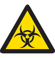 Biohazard Sign Icon vector image