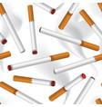 cigarette smoke seamless background smoking area vector image vector image