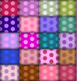 dots patterns vector image vector image