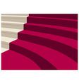 Elegant Staircase Background vector image vector image