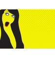 Grunge Girl vector image vector image