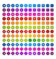 many arrows vector image vector image