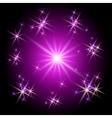 neon burst vector image