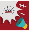 noise pollution design vector image vector image