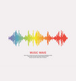 pulse music player vector image vector image