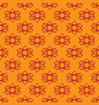seamless pattern on the yellow background vector image vector image