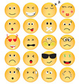 Set of Emotion Icons vector image vector image