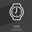 watches icon symbol Flat modern web design with vector image