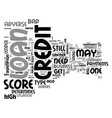 what you need to know about adverse credit loans vector image vector image