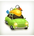 Car travel icon vector image vector image