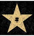 cinema star vector image vector image