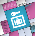 Luggage Storage icon sign Modern flat style for vector image