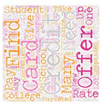 Ready For Your Very Own College Student Credit vector image vector image