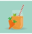 Smoothie icon design vector image