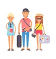 Summer vacation people vector image vector image