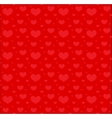 Valentines Day seamless pattern with hearts Love vector image