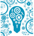 concept of effective teamwork vector image